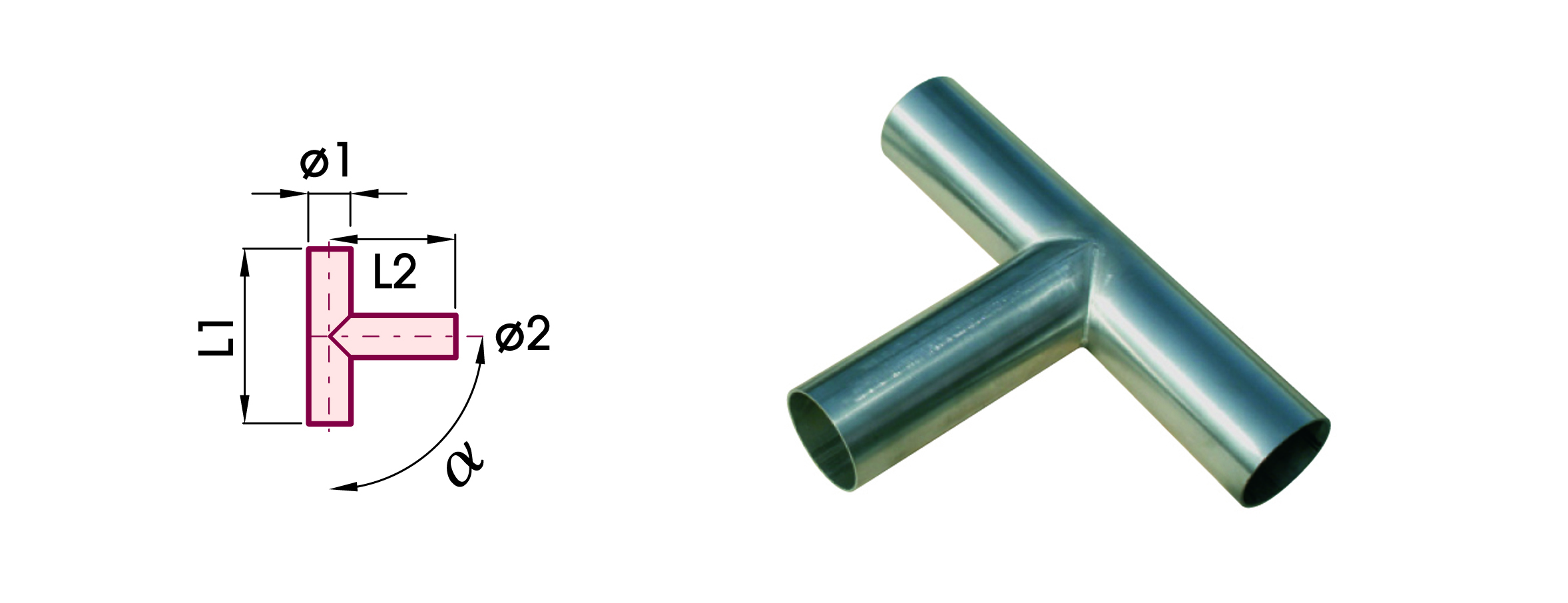 RACCORDI INOX 304 BTEI